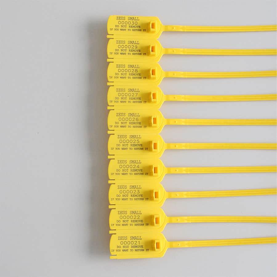 Zeus sigillo regolabile in plastica - casa produttrice italiana Oniloc