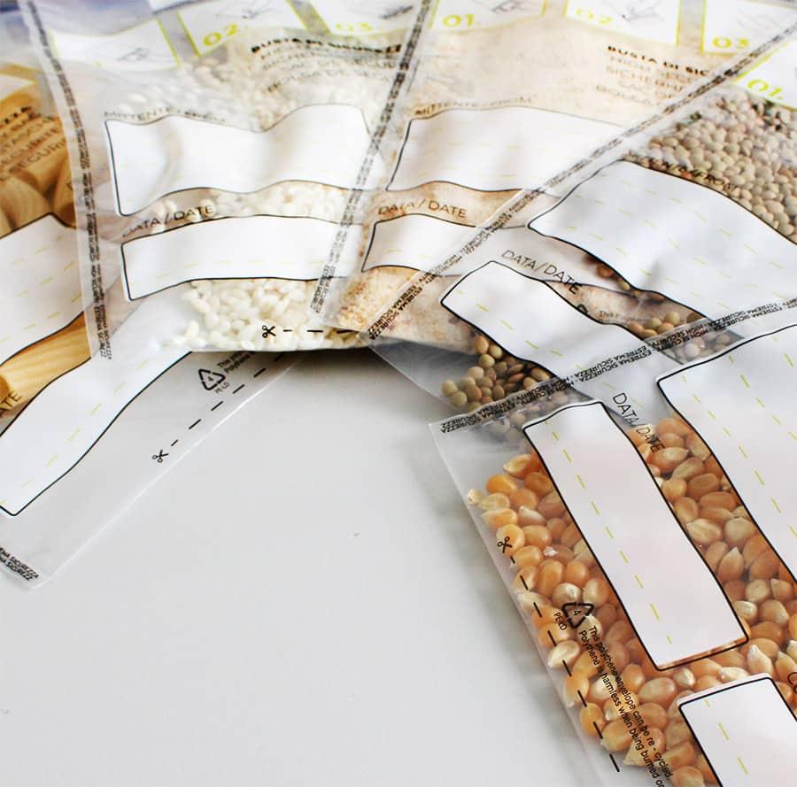 Buste campionamento cereali farine frumento - Oniloc
