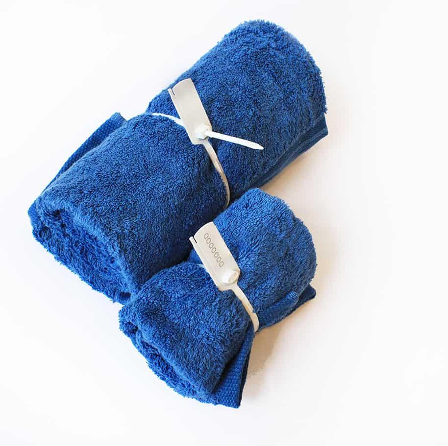 Sigillo Zeus e poseidone applicati a asciugamani hotel spa - Oniloc