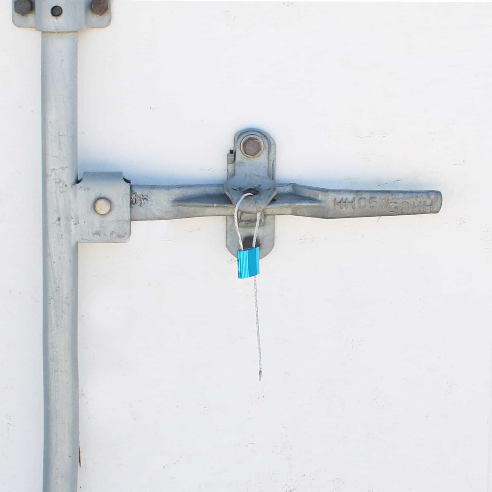 Sigillo a cavo metallico applicato a container - Oniloc