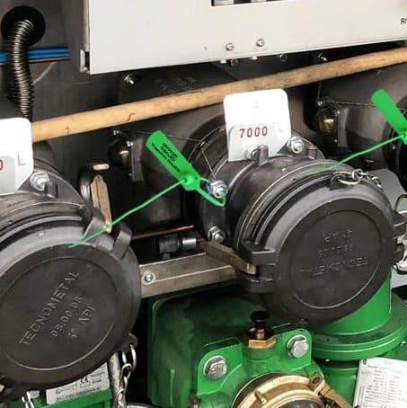 Ares sigillo regolabile su cisterna produzione Oniloc