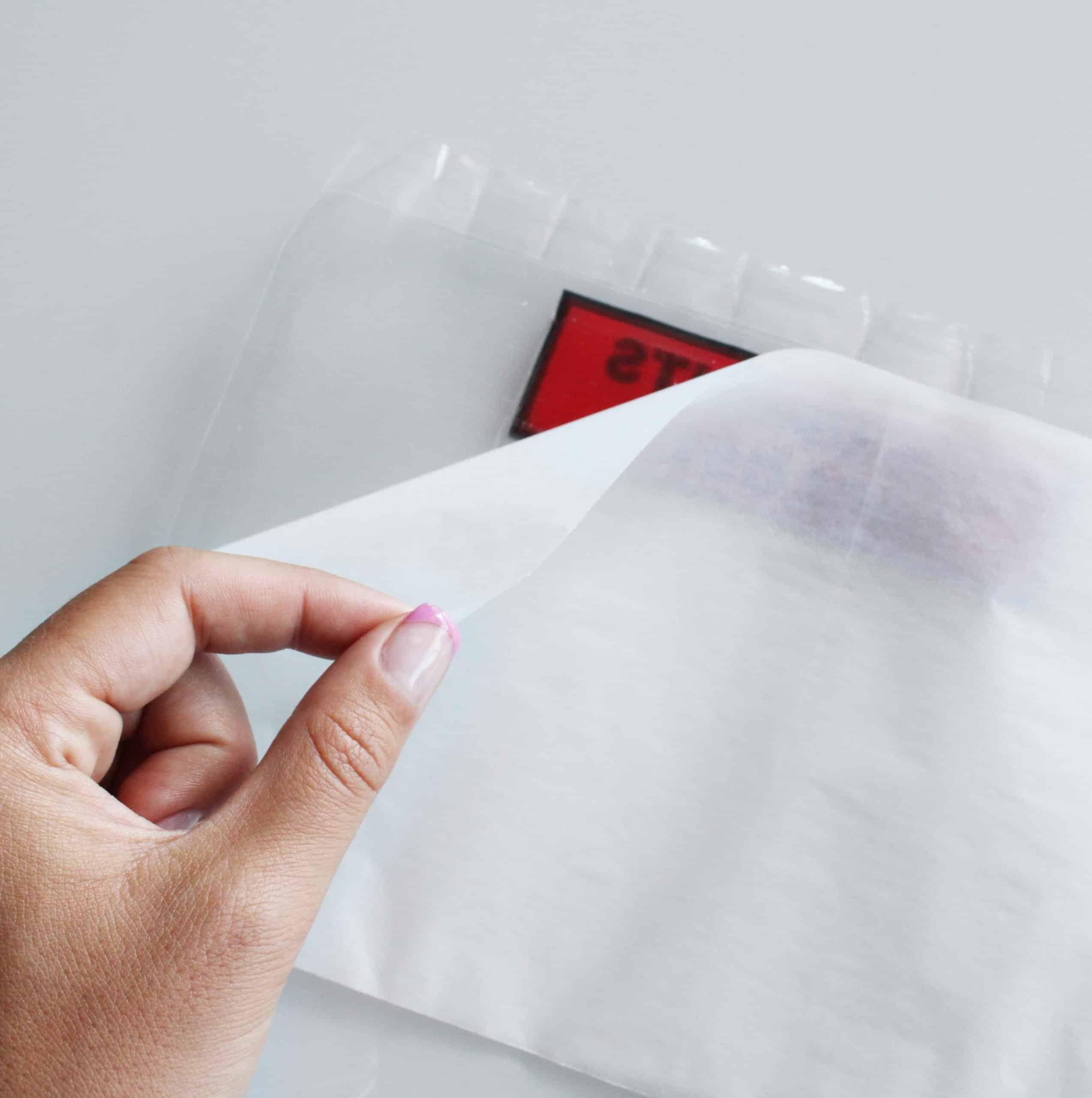 Busta trasparente porta documenti trasporto